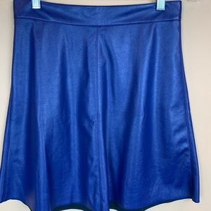 United Colors of Benetton vegan faux leather skirt